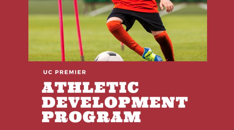 UC Premier athletic development program flyer