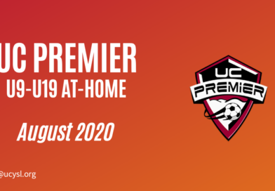 UC Premier August 2020 U9-U19 training program