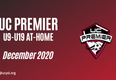 UC Premier December 2020 U9-U19 training program