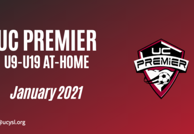 UC Premier January 2021 U9-U19 training program